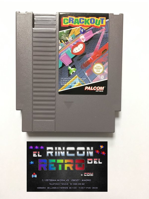 CRACKOUT NES