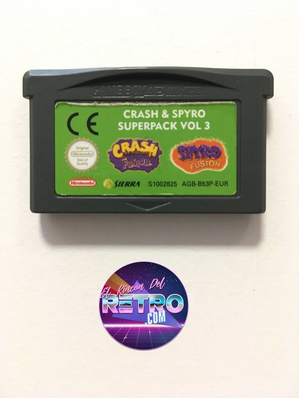 CRASH & SPYRO SUPERPACK VOL 3 GAMEBOY