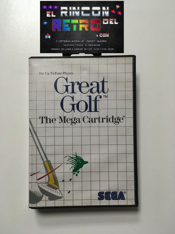 GREAT GOLF MASTER SYSTEM