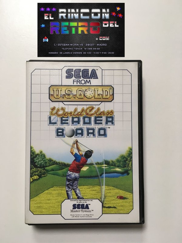 WORLD CLASS LEADER BOARD MASTER SYSTEM