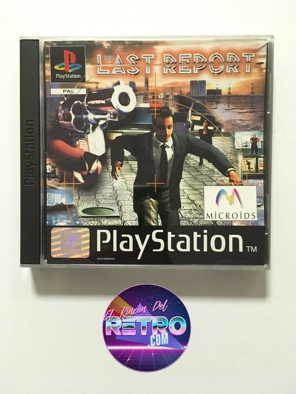 THE LAST REPORT PS1