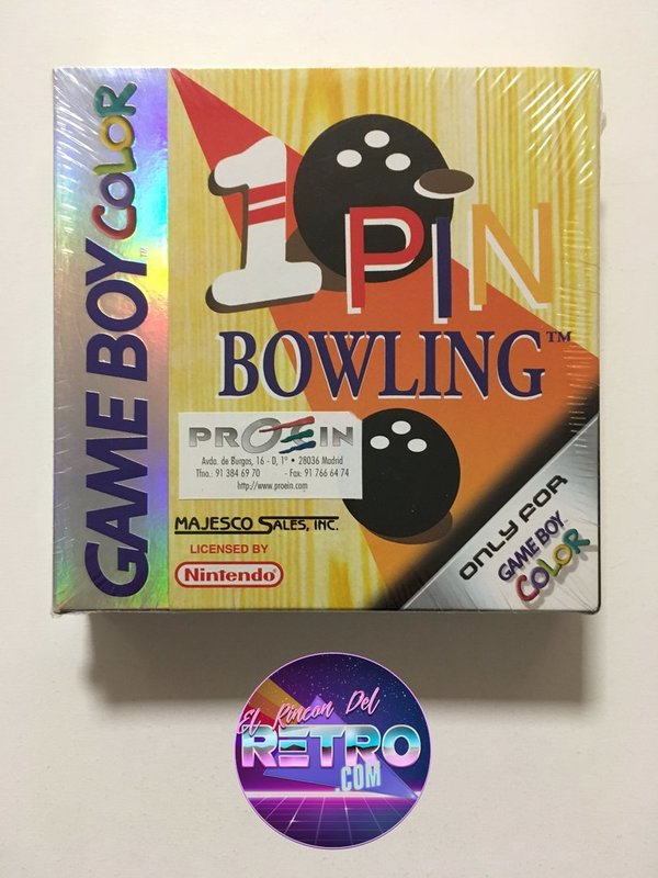 1 PIN BOWLING NUEVO GAMEBOY COLOR