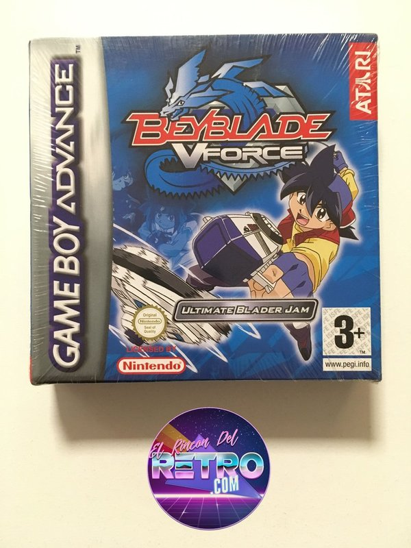 BEYBLADE VFORCE NUEVO GAMEBOY ADVANCE