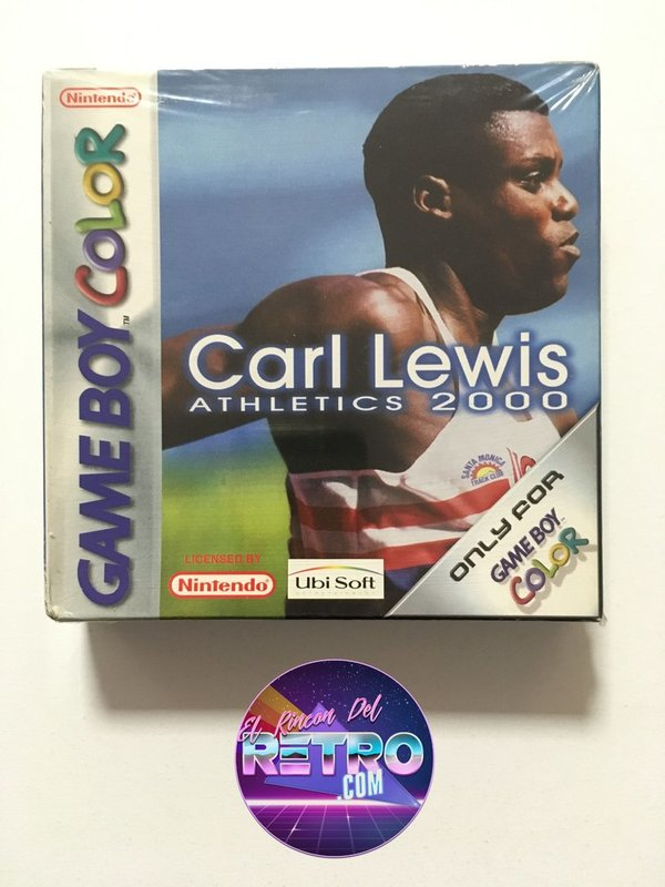 CARL LEWIS ATHLETICS 2000 NUEVO GAMEBOY COLOR