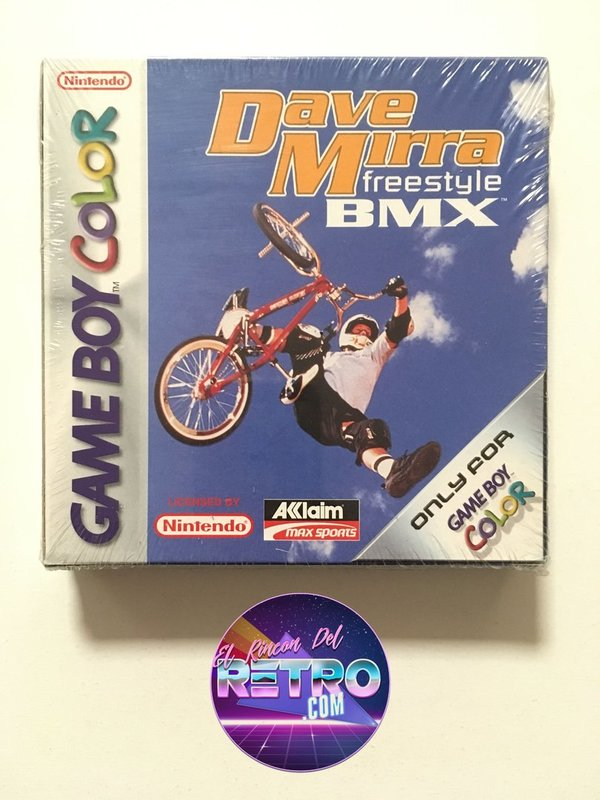 DAVE MIRRA FREESTYLE BMX NUEVO GAMEBOY COLOR