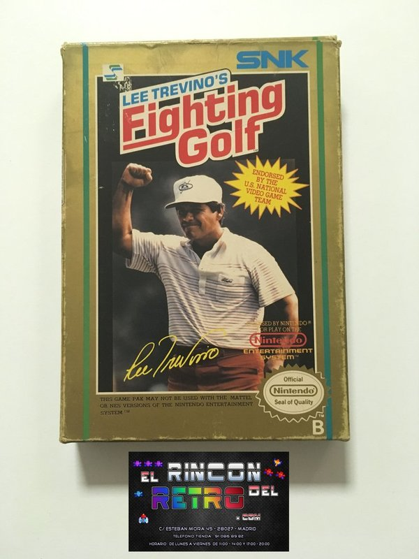 LEE TREVINOS FIGHTING GOLF NES