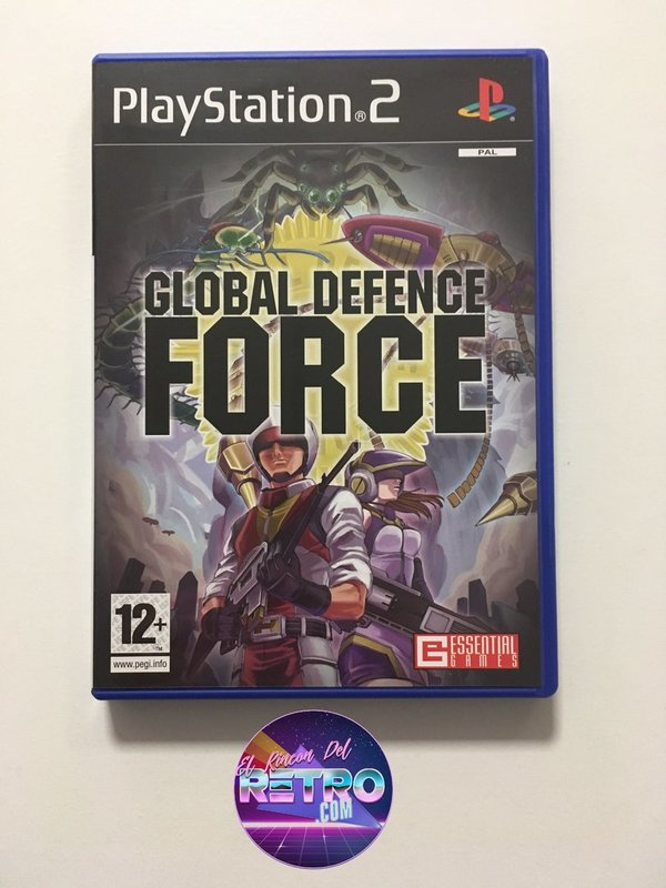 GLOBAL DEFENCE FORCE NUEVO PS2