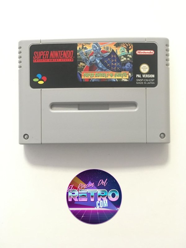 SUPER GHOULS AND GHOST SNES