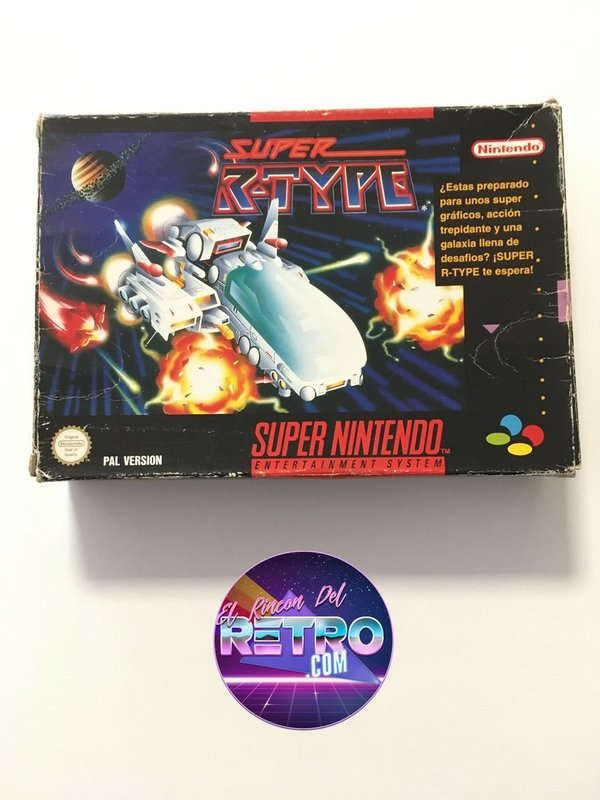 SUPER R-TYPE SNES