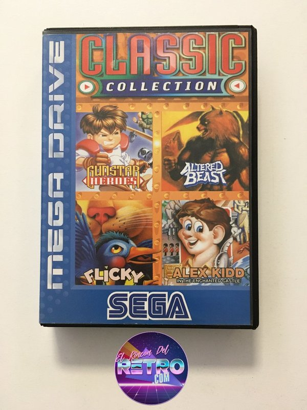 CLASSIC COLLECTION MEGADRIVE