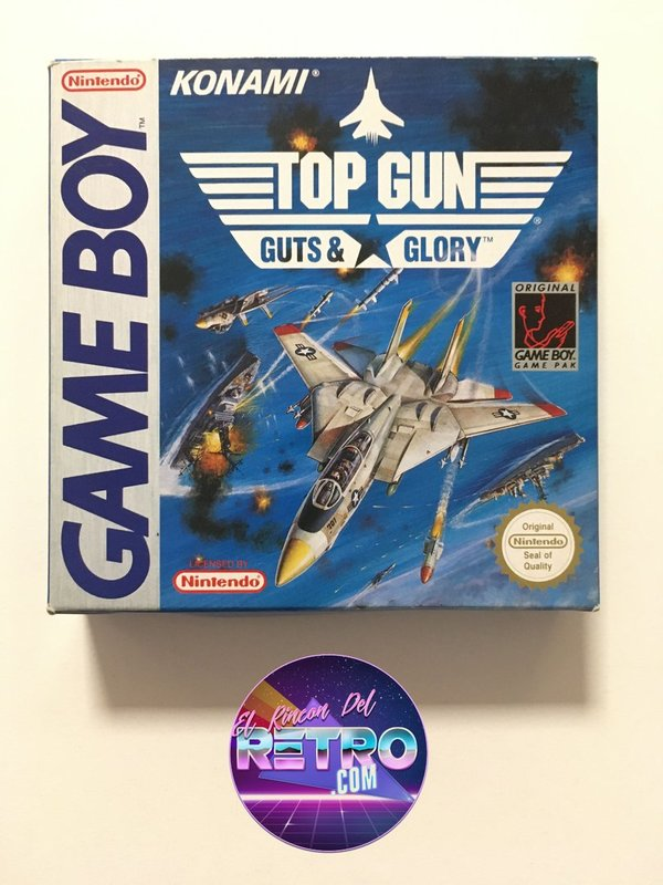 TOP GUN GUTS & GLORY GAMEBOY