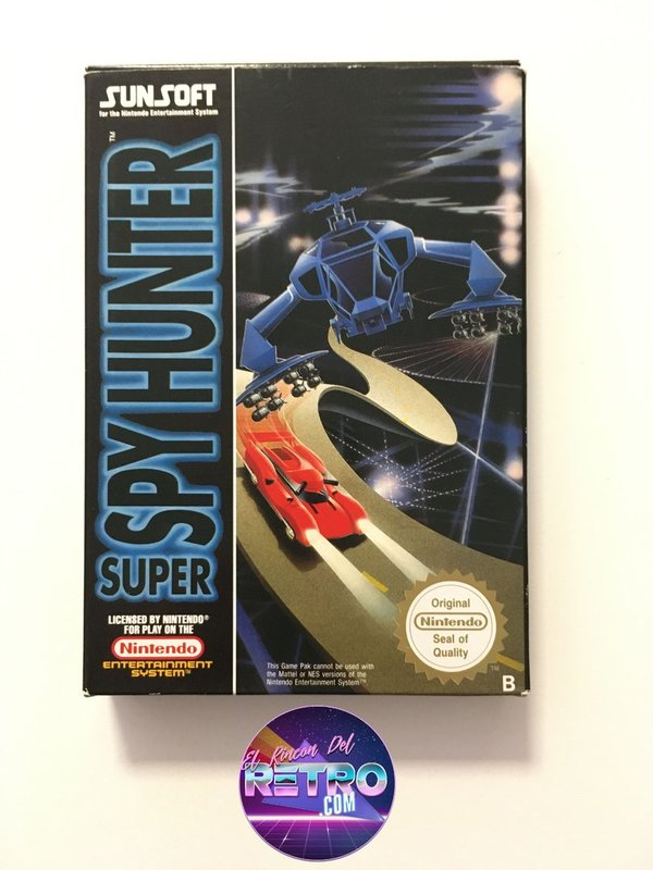 SUPER SPY HUNTER NES